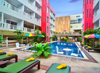 3 Sterne Hotel Eastiny Place Hotel Pattaya In Central Pattaya