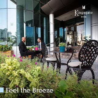 Kingsgate Hotel Doha by Millennium Hotels - Terrasse