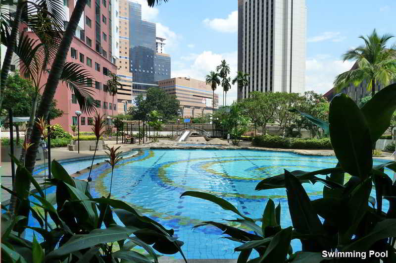 EBM Executive Apartments KL - Pool