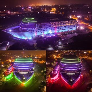 Pacific Palace Hotel, Jl. Duyung Sei Jodoh,