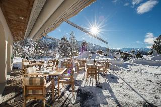 GOLFHOTEL Les Hauts de Gstaad & SPA - Terrasse