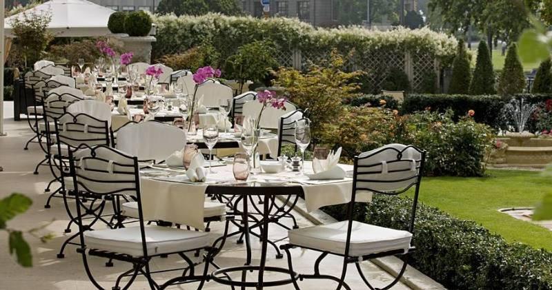 Grand Hotel Du Lac - Terrasse