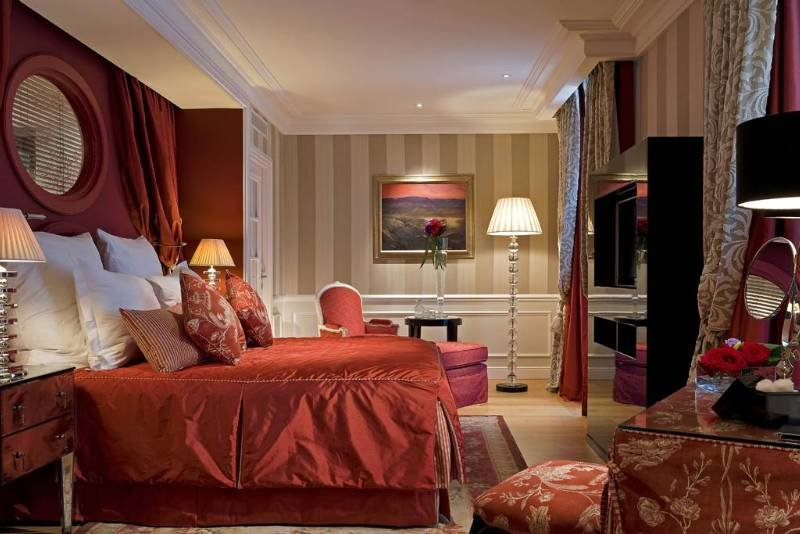 Grand Hotel Du Lac - Zimmer