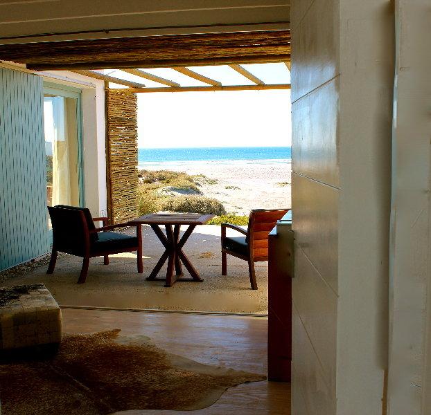 Strandloper Ocean Lodge - Terrasse