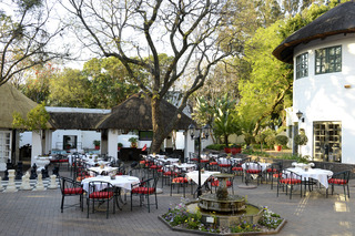 Indaba Hotel and Conference Centre - Terrasse