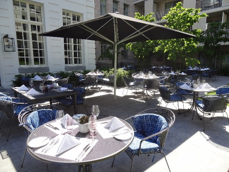 Pillows Grand Hotel Reylof - Terrasse