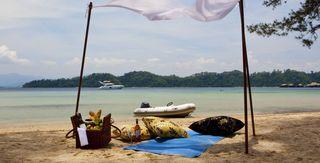 Gaya Island Resort - Strand