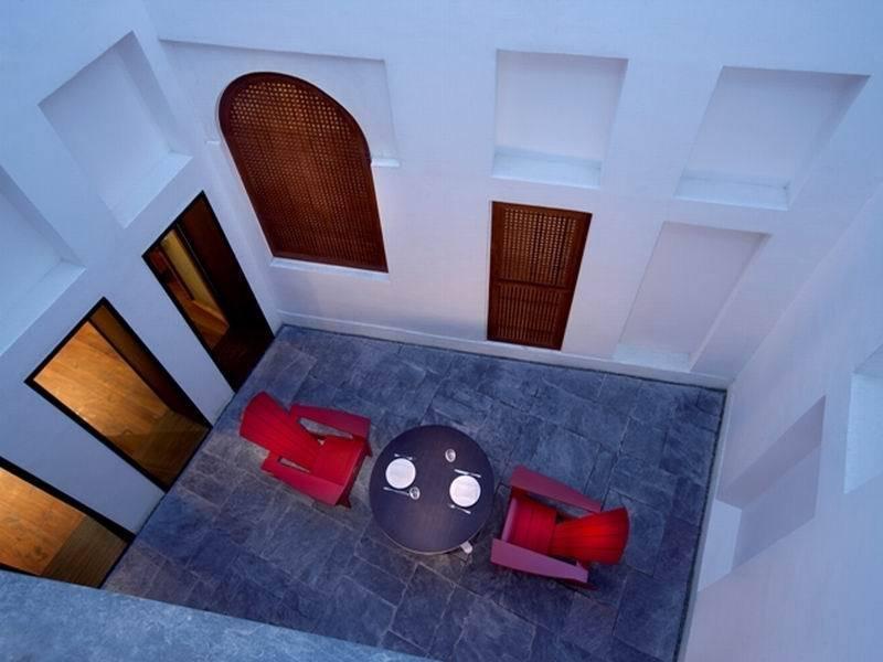 Al Najada Boutique Hotel - Terrasse