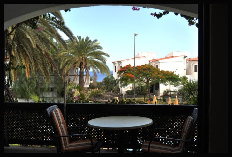 Apartamentos El Chaparral - Terrasse