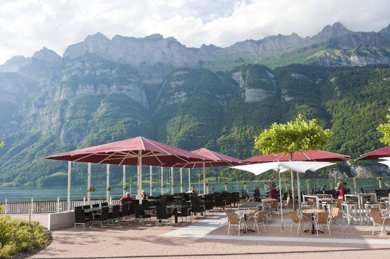 Resort Walensee - Terrasse