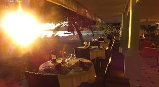 Palm Beach Hotel - Terrasse