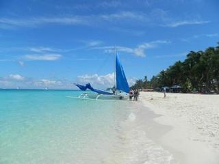 La Plage De Boracay Resort - Strand
