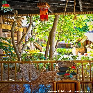 Fridays Boracay Resort - Terrasse