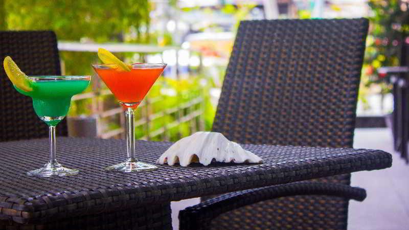 Citi Park  Hotel - Terrasse