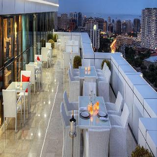 Triumph City Hotel & Residences - Terrasse