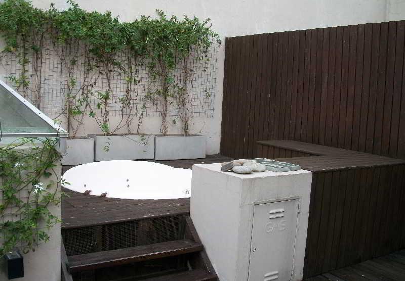 A Hotel - Terrasse
