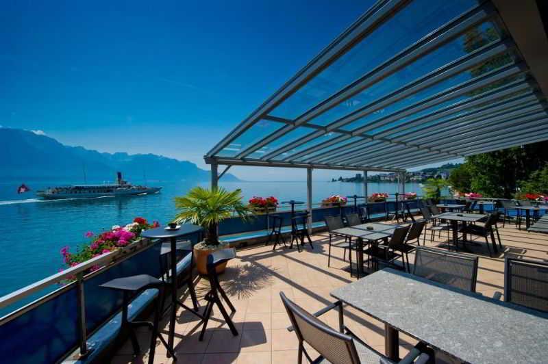 Eurotel Montreux - Terrasse