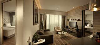 Pan Pacific Serviced Suites Beach Road - Zimmer