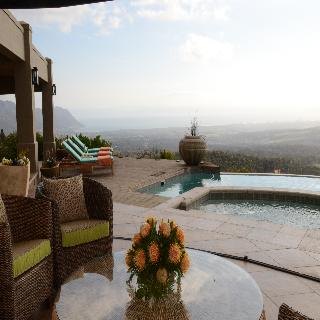 Bezweni Lodge - Terrasse