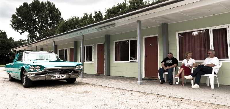 Wittrups Motel - Terrasse