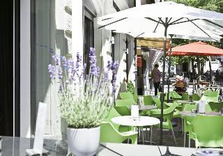 Hotel Platzhirsch - Terrasse