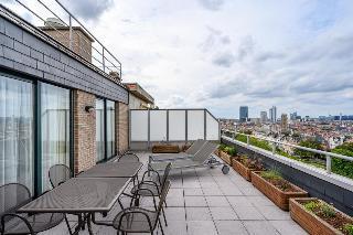 B-Aparthotel Ambiorix - Terrasse