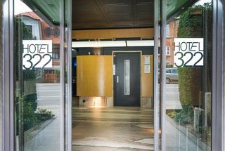 Hotel 322 Lambermont - Diele
