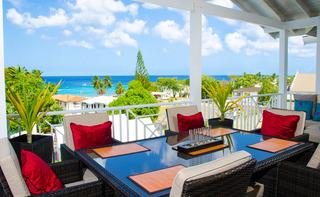 Lantana Resort Barbados - Terrasse