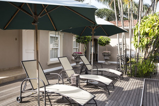 Auberge Hollandaise Guest House - Terrasse