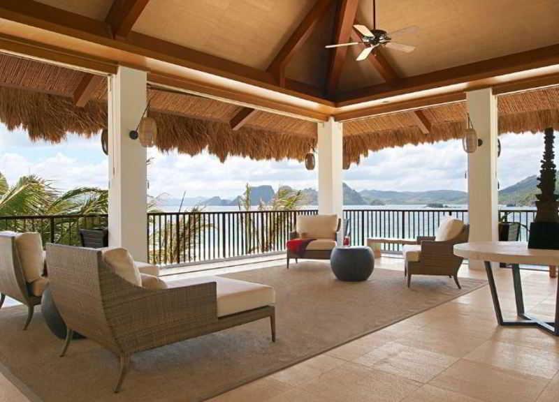 El Nido Resorts Pangulasian Island - Diele