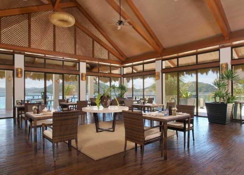 El Nido Resorts Pangulasian Island - Restaurant