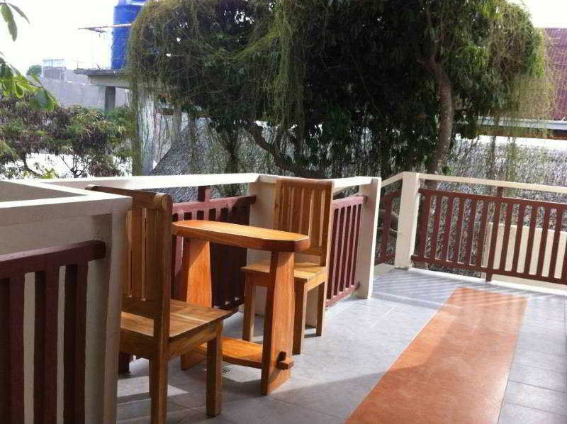 Agos Boracay Rooms and Beds - Terrasse