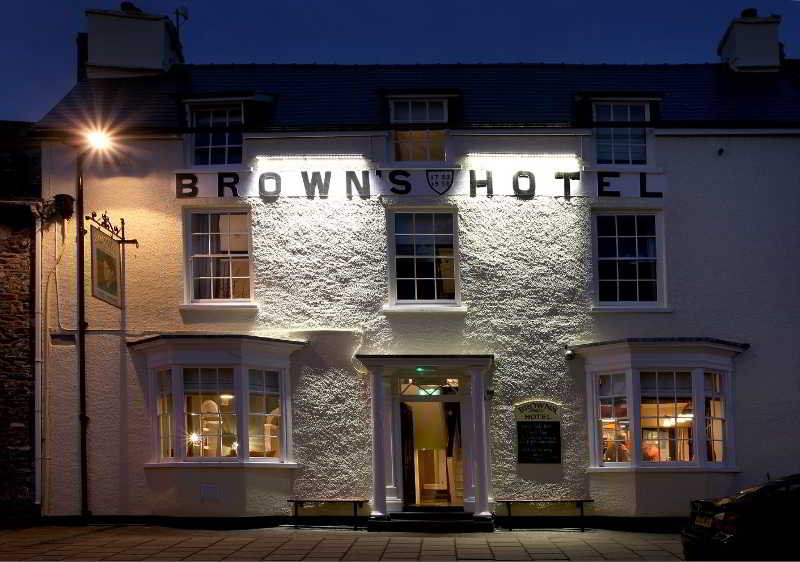 Browns Hotel - Laugharne