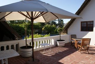 Wedgeview Country House & Spa - Terrasse