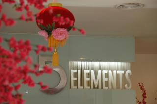 The 5 Elements Hotel - Diele