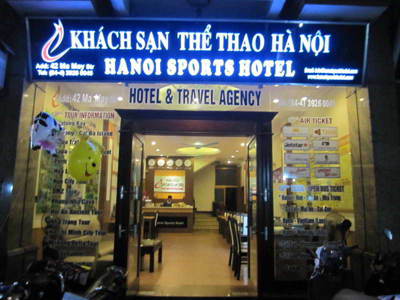 Hanoi Sports Hotel, 40-42 Ma May Str, Hoan Kiem…