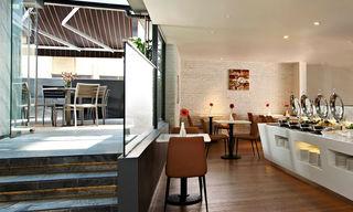 Aqueen Hotel Jalan Besar (SG Clean Certified) - Restaurant