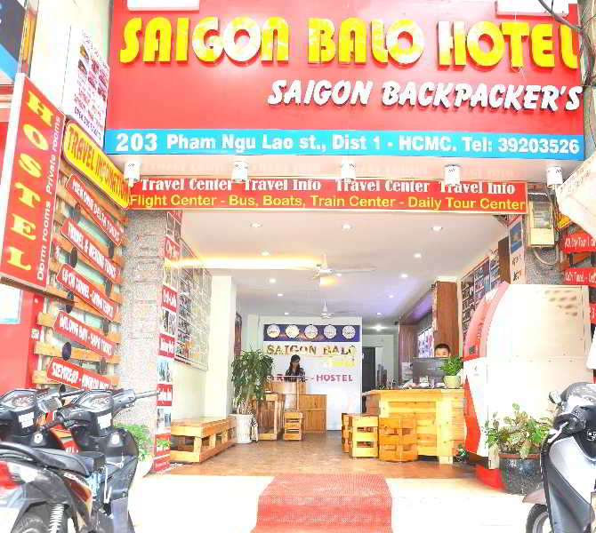 Saigon Balo Hotel, 203 Pham Ngu Lao,0