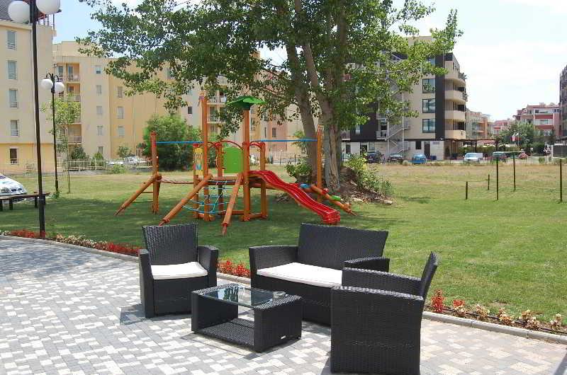 Boomerang Apartments - Terrasse