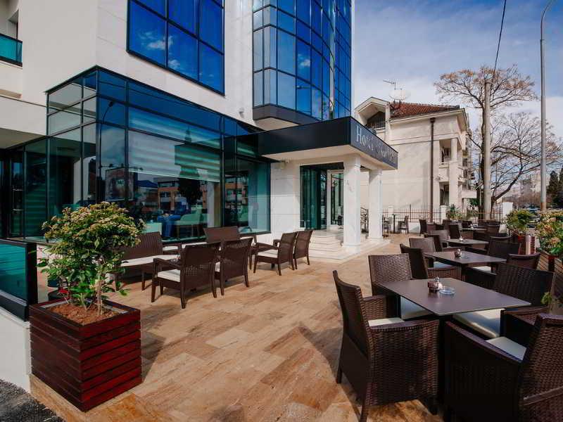 New Star hotel - Terrasse