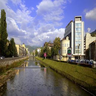 Courtyard Sarajevo, Skenderija,1