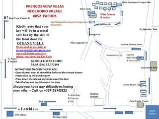 Oceana Villas, Aristo Prengos Village,1