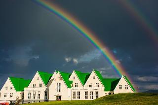 Heradsskolinn Hostel, Laugarvatn,
