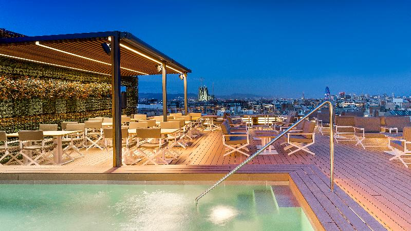 Pool Majestic Hotel & Spa Barcelona