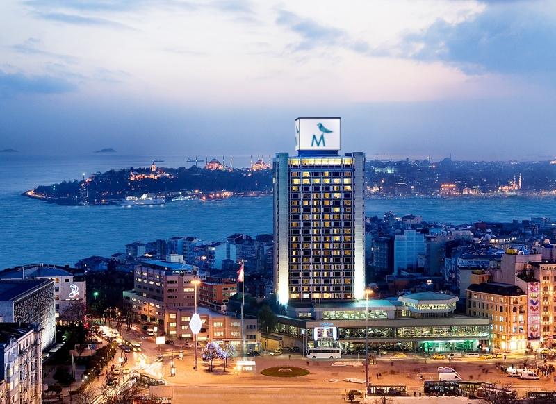 General view The Marmara Taksim - Istanbul