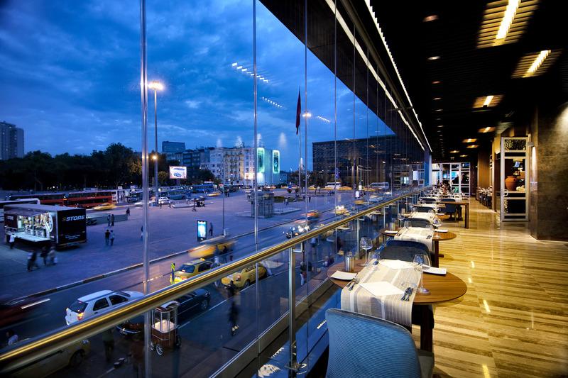 Restaurant The Marmara Taksim - Istanbul