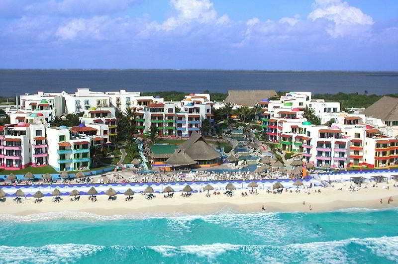 General view El Pueblito Beach
