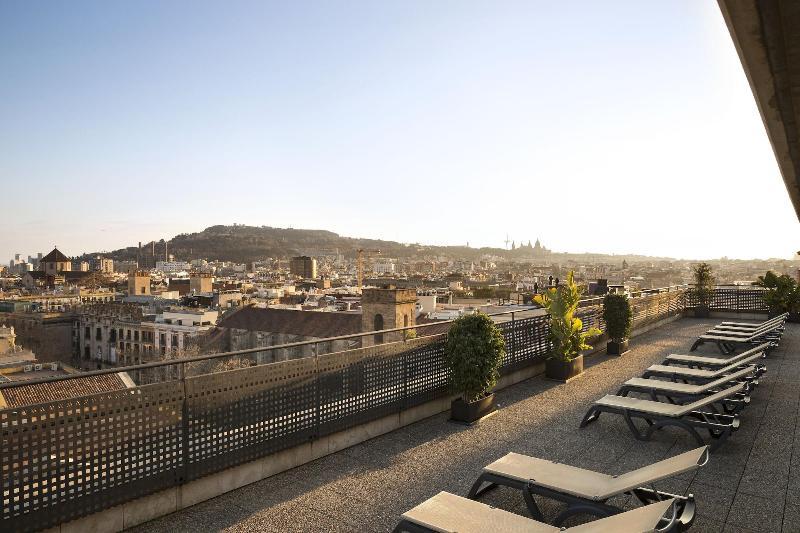 Terrace Citadines Ramblas Barcelona