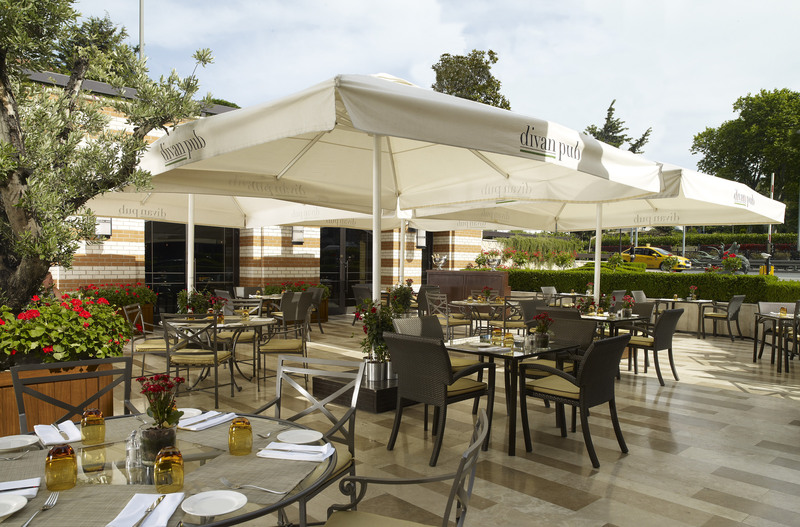 Restaurant Divan Istanbul Hotel