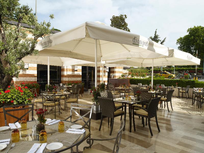 Terrace Divan Istanbul Hotel